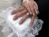 Постер, плакат: Свадьба руки