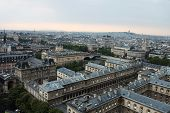 Roofs, Houses, And Streets Of Paris From The Bell Tower Of Notre-dame De Paris, poster