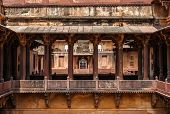 Datia palace ( also called Satkhanda Palace or Purana Mahal or the Old palace). Datia, Madhya Prad poster