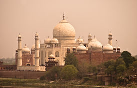 picture of doma  - Taj Mahal view fron Agra Fort Agra India - JPG
