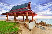 KOH KHO KHAO, THAILAND - NOV 7: Oriental architecture of Andaman Princess Resort & SPA. Hotel was de