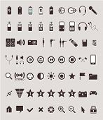 high quality icons in minimalistic style