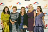 HOLLYWOOD -  Princess Theodora, Queen Anne-Marie of Greece, Nia Vardalos and gala chairpersons at th