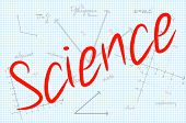 Science Word With Mathematics Background