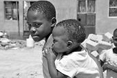 Brothers In The Kampala Slums