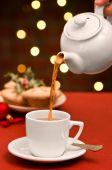 Christmas Teatime poster
