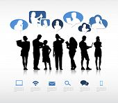 picture of gathering  - Social Gathering Vector - JPG