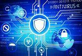 foto of antivirus  - Antivirus Background - JPG