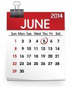 foto of calendar 2014  - Vector of Calendar - JPG