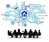pic of reimbursement  - Business Meeting With Insurance Infographic - JPG