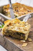 picture of phyllo dough  - boerek pastry - JPG