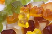 picture of gummy bear  - close up photo of multi - JPG