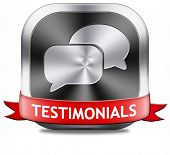 testimonials customer feedback testimonial icon or button leave a comment