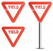 Vector Yield Sign