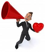 picture of prince charming  - Fun businessman - JPG