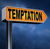 foto of  habits  - temptation resist devil temptations lose bad habits by self control  - JPG