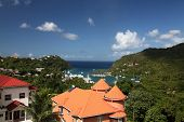 picture of caribbean  - The stunning Caribbean resort of Marigot bay - JPG