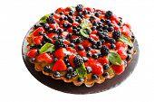 picture of tarts  - fruit tart - JPG