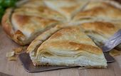 foto of phyllo dough  - Tiropita  - JPG
