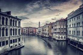 stock photo of street-art  - Beautiful Venice cityscape - JPG
