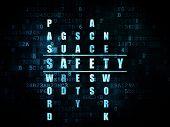 image of pixel  - Security concept - JPG