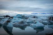 foto of iceberg  - Blue - JPG
