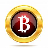 picture of bitcoin  - Bitcoin icon - JPG