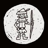 pic of archer  - Archer Doodle - JPG