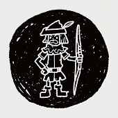 image of archer  - Archer Doodle - JPG