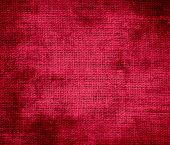 image of glory  - Grunge background of crimson glory burlap texture for design - JPG