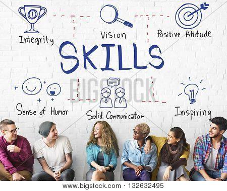 Skills Intelligence Job Occupation Recruitment Concept