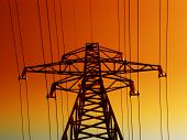 foto of electrical engineering  - Electrical tower - JPG