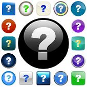 stock photo of question-mark  - Question vector elements - JPG