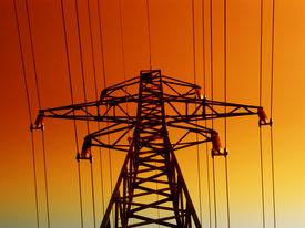 image of electrical engineering  - Electrical tower - JPG