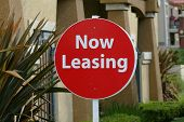 Now Leasing Sign