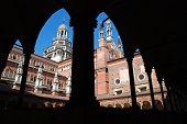 stock photo of carthusian  - The Certosa di Pavia or Charterhouse of Pavia  - JPG