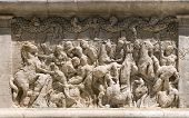 foto of gleaning  - Detail of The Triumphal Arch at Glanum - JPG