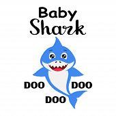 Baby Shark Png, Baby Shark Boy Pictures, Baby Shark T-shirt Design poster