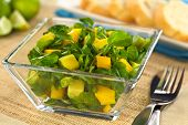 Mango, Avocado and Watercress Salad