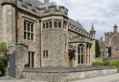 Wells Cathedral Music School, Cathedral Green, Wells, Somerset, Uk  15th Century Grade Ii Listed For poster