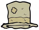 picture of hobo  - cartoon hobo hat - JPG