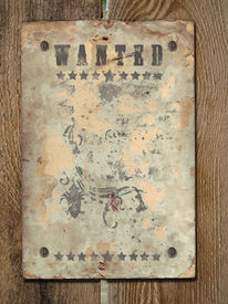 pic of wild west  - Wild West styled poster - JPG