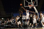 Penn State's Andrew Jones blocks Purdue's No. 33 E'Twaun Moore