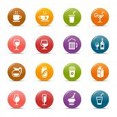 Colored Dots - Drink and Alcohol icons