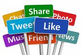 stock photo of recommendation  - Social media and networking concept - JPG