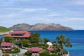stock photo of west indies  - The beautiful Eden Rock hotel at St Barth - JPG