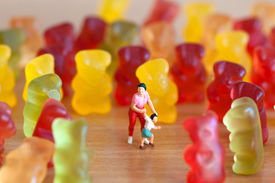 foto of gummy bear  - Gummy bear invasion - JPG