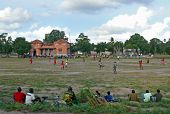 Quelimane, Mozambique - 7 December 2008: Football Match.