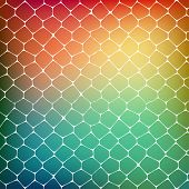 pic of cell block  - Abstract background of colored cells - JPG