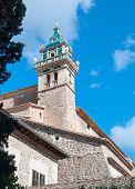 stock photo of chopin  - Cartujan Monastery Valldemossa Mallorca Balearic islands Spain - JPG